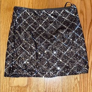 Adorable Sequin Skirt Size Small